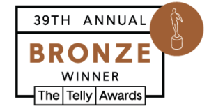 39th Annual Bronze Telly Winner